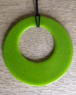 limegrøn glasring