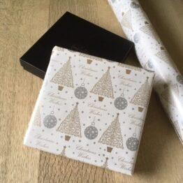 Julehjerter i gavepapir