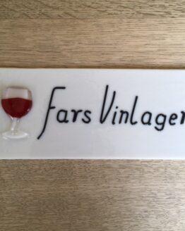 Fars vinlager skilt