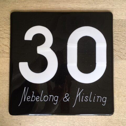 Husnummer m navn